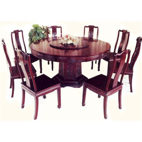 oriental dining room sets oriental round dinning table carved wooden pedistal base and lazy susan oriental furnishings