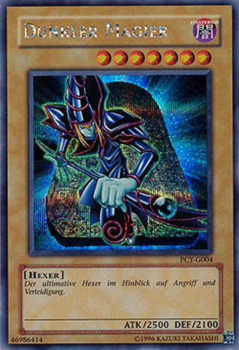 dunkler magier deck yu gi oh einzelkarten promo karten duel monsters pc