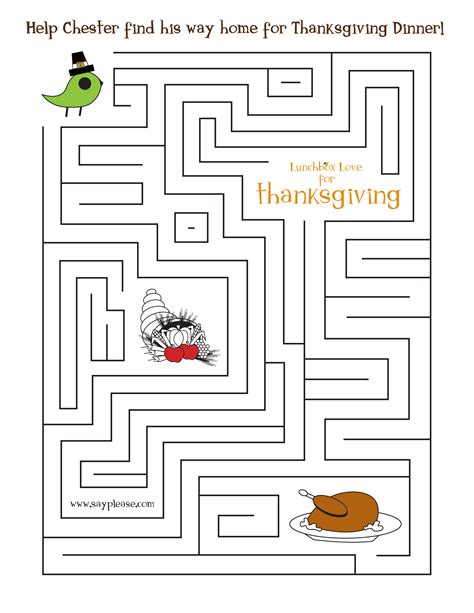 free printable turkey mazes free seasonal printables sayplease com