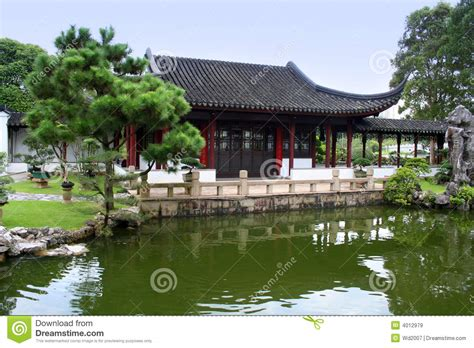 Japanese House And Garden by Japanese House And Garden Stock Image Image Of Heritage