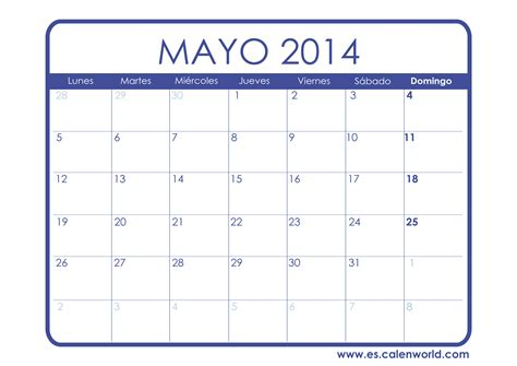 Calendario M Ayo Related Keywords Suggestions For Calendario Mayo 2014