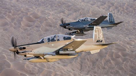 at 6 light attack aircraft three planes will square in the usaf s light attack