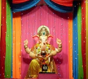 Decoration Themes For Ganesh Festival At Home Pics For Gt Ganesh Chaturthi Decoration Ideas At Home