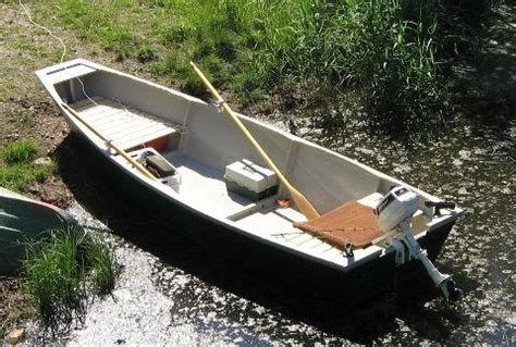 homemade punt boat a 15 8 quot fishing punt free boat plans