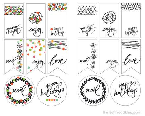 printable christmas tags black and white printables holiday gift tags we are scout