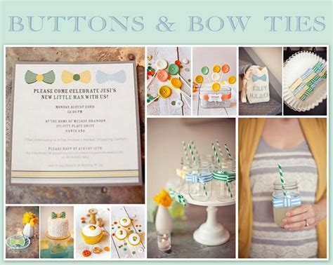 themes cute baby 75 best bow tie baby shower images on pinterest