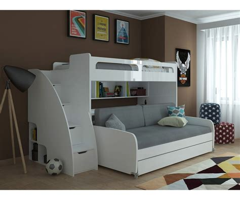 bed with couch tb 6773 bunk bed