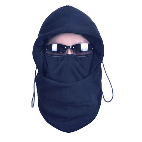 Balaclava Polar Masker Thermal 6 In 1 Multifungsi outdoor thermal fleece 6 in 1 balaclava ski mask