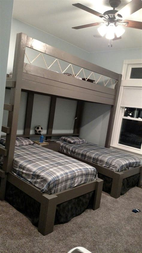 bunk beds boys triple bunk beds for boys house stuff pinterest