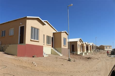 mass housing greed bedevilled mass housing project nahas new era newspaper namibia