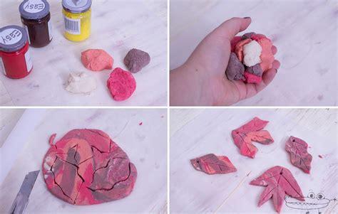 hojas secas de masa de sal manualidades infantiles hojas secas de masa de sal manualidades infantiles