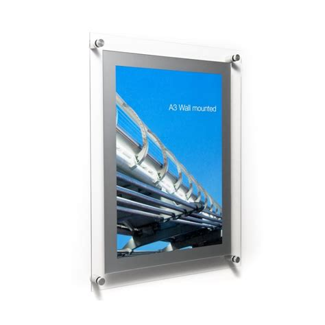 Acrylic Poster acrylic poster holder wall fixed acrylic display frames