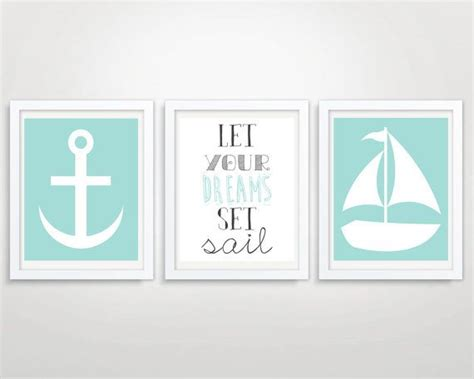 Nautical Ls For Nursery by Image Set Sail Nautical Inspirational Quotes