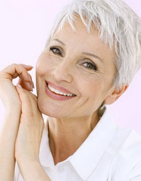 pictures of pixie cuts for older women short pixie haircuts for older women