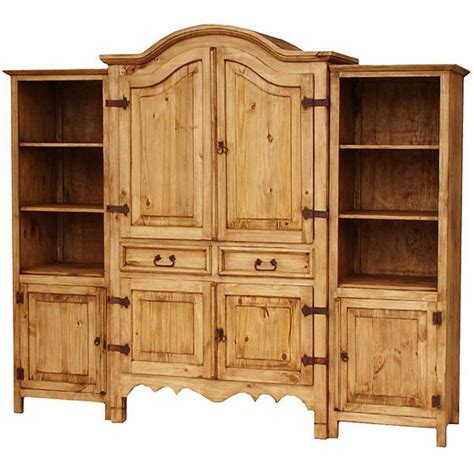 rooms to go armoire entertainment center rustic pine collection sierra entertainment center