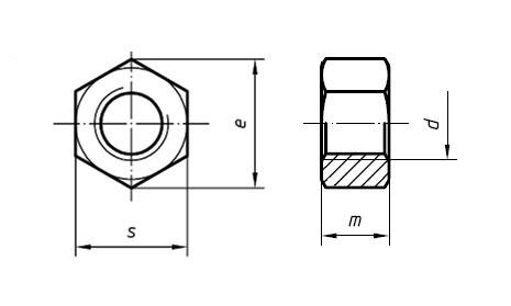 Tap M14 X 1 5 By Trio Teknik dosya hex nut drawing png vikipedi