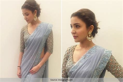 learn how to wear a saree from anushka sharma