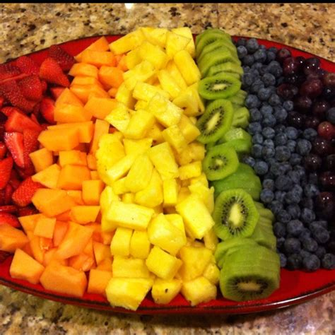 5 fruit tray rainbow fruit tray wash and cut up fruit in advance and