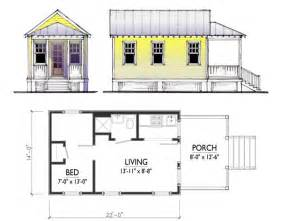 Medcottage Floor Plan by Cusato Cottages Tiny House Design