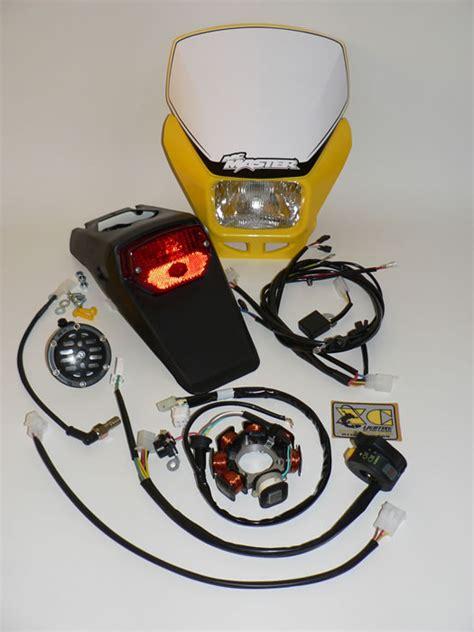 Ktm Lighting Kit Husqvarna Cr125 250 Enduro Motocross Xc Lighting Kits