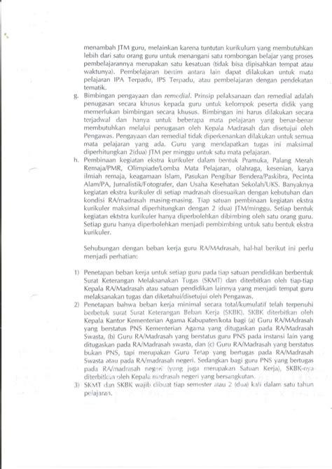 Seri Alkitabku Alkitab Pedoman Guru sk dirjen pedoman beban kerja guru madrasah no 166 th 2012 new