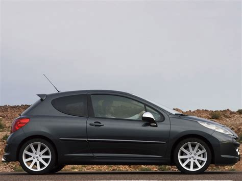 peugeot black 2007 peugeot 207 rc pictures history value research