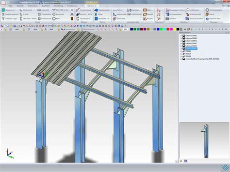carport planungssoftware megacad metall 3d cad f 252 r metallbau