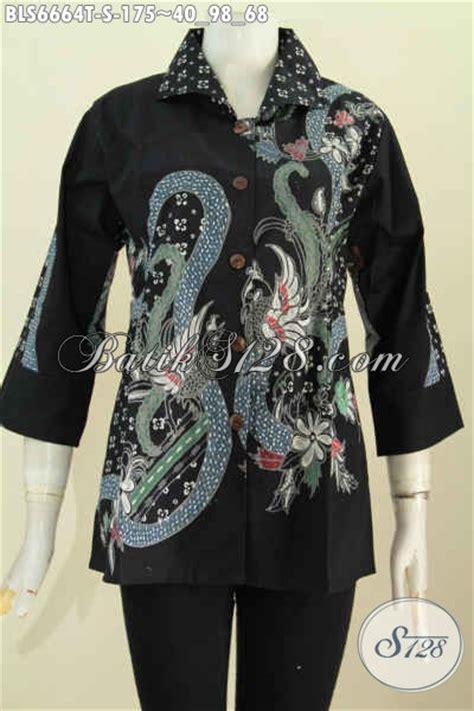 Baju Kurung Hitam Untuk Temuduga blus batik hitam motif keren baju batik tulis untuk