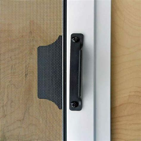 sliding screen door handles sliding patio door screens mobile screens etc inc