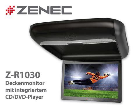 Deckenmonitor Auto by Zenec Z R1030 Deckenmonitor Mit Integriertem Cd Dvd