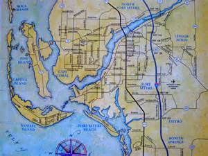 map of cape coral florida area map of cape coral vacation rentals cape coral