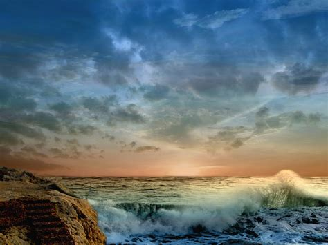 across the sea hd wallpapers