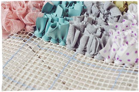 boucherouite rug diy diy tuto le tapis boucherouite au point nou 233 latch hooking wip crochet craft and crafty