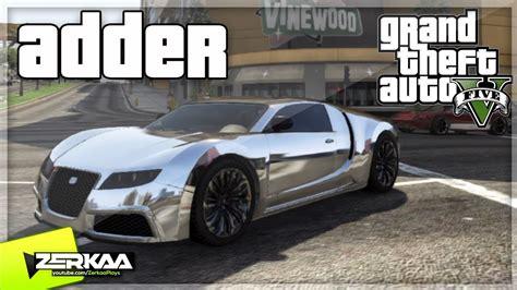 bugatti adder bugatti vs adder sur le forum grand theft auto v 04 02