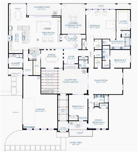 mediterranean home plans with courtyards house plans with courtyards mediterranean