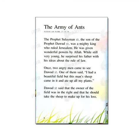 children s picture story books story book the army of ants the powerful jinn two