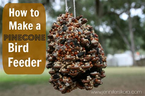 How To Make Bird Feeders With how to make a bird feeder jen around the world
