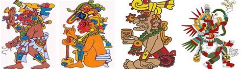 imagenes mayas con significado nombres de dioses