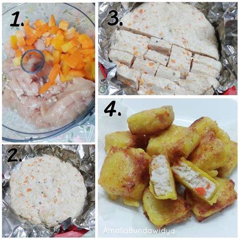 cara membuat nugget ayam 17 best images about kek puding biskut dan lauk pauk on