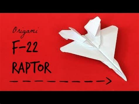 Origami F 22 Raptor - vdomini how to make an origami f 22 raptor paper plane