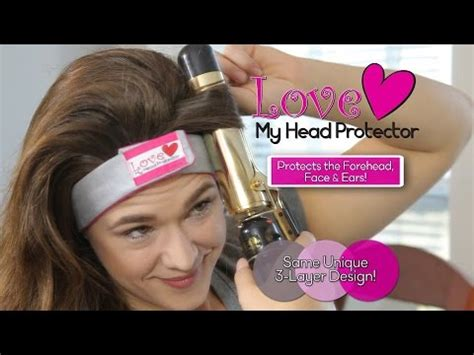 treat damaged hair from curling iron no more curling iron burns while styling your hair youtube
