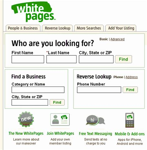 Whitepages Search For Address Whitepages Address And Phone Number Look Up