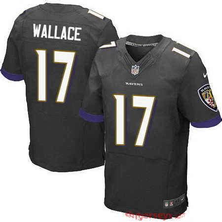 black mike wallace 17 jersey most active p 466 new nike raiders 24 marshawn lynch anthracite salute to