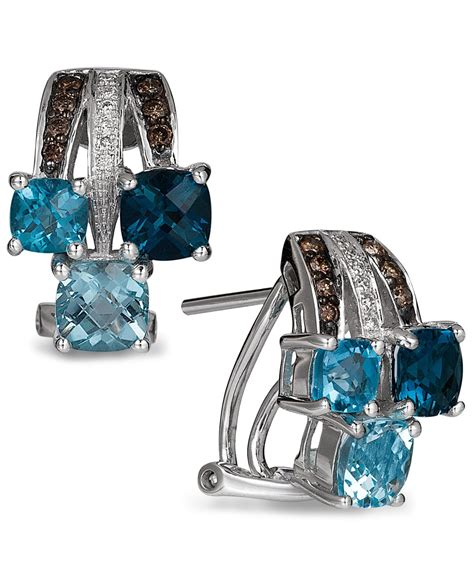 Sherry Topaz 10 02 Ct lyst le vian blue topaz 2 9 10 ct t w and 1
