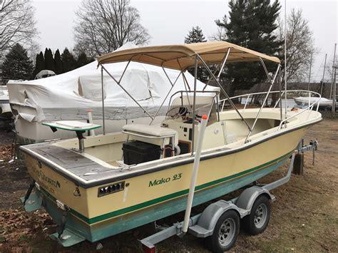 mako boats ct 1975 mako 23 inboard power boat for sale www yachtworld