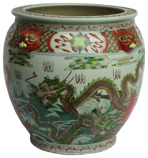 Pot Planters by Porcelain Color Fish Pot Planter Indoor Pots And Planters By Golden