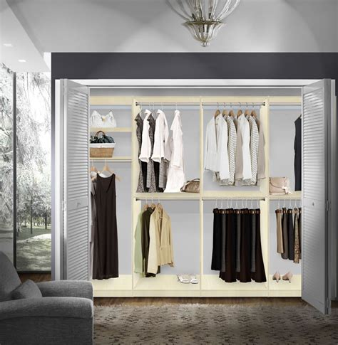 isa walk in closet systems hanging storage