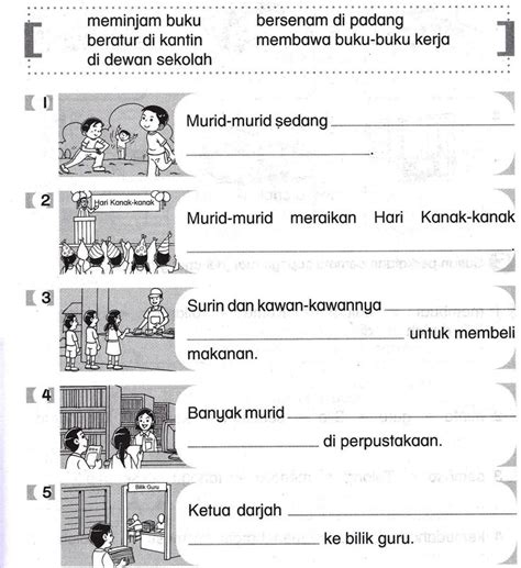 Novel 2nd Karangan Fielding bahasa melayu tahun 2 latihan dan aktiviti education search and ps