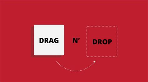 ui pattern drag and drop 11 amazing html5 drag and drop exles webydo blog