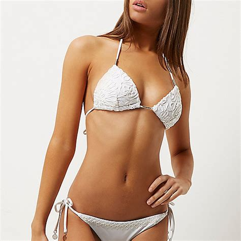 Best String For String - white cornelli string top bikinis sale